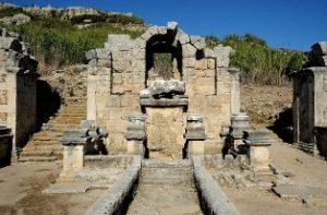 древния анадолски град Перге