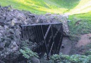 Намерен е древен подземен град