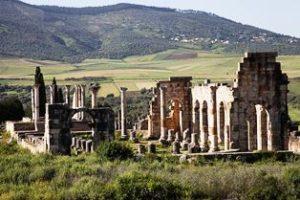 Волубилис  най-запазените римски руини в Мароко