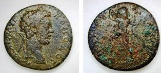 Нов тип бронзова римска провинциална монета на Анхиало