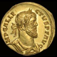 Рядка  римска  монета , намерена в поле в Англия,  и продадена  за  700,000 долара
